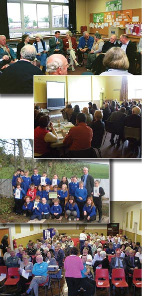 Aberdeenshire Rural Partnerships - Working With Agencies To Support Communities photo montage